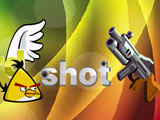 Игра Стрелять Злых Птичек