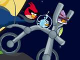 Игра Злые Птички: Косм. Велосипед