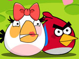 Игра Злые Птички: Защитники Роз