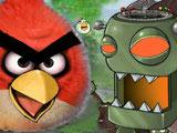 Игра Злые Птички Против Зомби