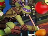 Игра Черепашки Ниндзя: Бой с Едой