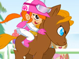Игра Забег с Маленьким Пони