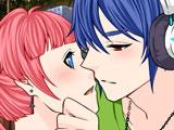 Игра Аниме: Школьный Поцелуй
