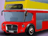 Игра Раскрась Автобус
