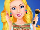 Игра Барби: Самодельная Помада