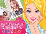Игра Барби: Винтаж или Ретро