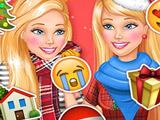 Игра Барби Едет Домой на Новый Год