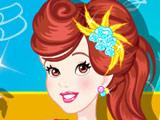 Snow White at Spa Salon