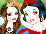 Play Snow White Against Evil Stepmother