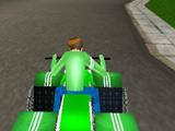 Игра Бен 10 Гонка на Квадроцикле 3Д