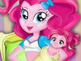 Игра Пинки Пай Ждет Ребенка
