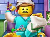 Игра Лего Эммет в Больнице