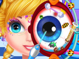 Игра Больница: Лечить Глаза