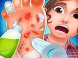 Игра Больница: Лечить Ступню
