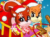 Рождественские Белочки