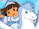 Игра Даша и Снежная Принцесса