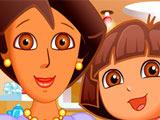 Игра Даша: Маникюр для Мамы