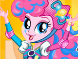 Игра Пинки Пай на Роликах