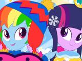 Девушки Эквестрии: Зимняя Мода