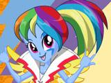 Игра Rainbow Rocks: Радуга Дэш