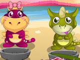 Любовь к Малышам Динозаврам