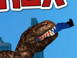 Игра Динозавр Рекс в Нью Йорке