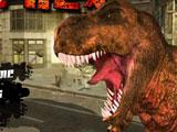 Игра Динозавр Рекс в Лос-Анджелесе