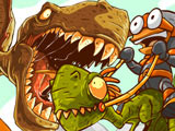 Игра Езда на Динозавре