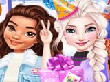 Принцессы Диснея на Катку: Вечеринка