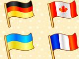 Игра для Малышей: Флаги