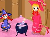 Игра Укрась Хижину Ведьмы