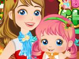 Игра Рождество Малышки Алисы