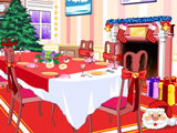 Украшение Столовой к Рождеству 2