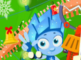 Игра Фиксики: Наряди Ёлку