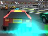 Игра Пиксельные Гонки 3Д