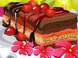 Игра Готовим Еду: Вишневый Торт