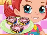Игра Готовим Еду: Радужные Пончики