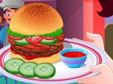 Игра Готовим Еду: Чизбургер