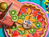 Готовим Вкусный Фруктовый Пирог