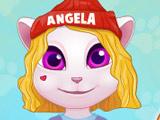 Игра Анжела на Уроках Танцев