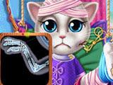 Игра Кошка Анжела в Госпитале