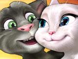 Игра Кот Том Любит Анжелу