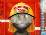 Игра Том Моет Пожарную Машину