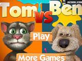 Игра Говорящий Том Против Бена