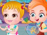 Малышка Хейзел и Золотая Рыбка