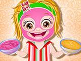 Малышка Хейзел: Спа-макияж