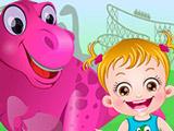 Игра Хейзел в Парке Динозавров