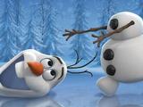 Игра Собери Снеговика Олафа
