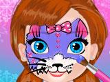 Игра Рисунки на Лице Анны
