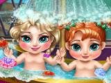 Холод Сердце - Малышки в Ванной